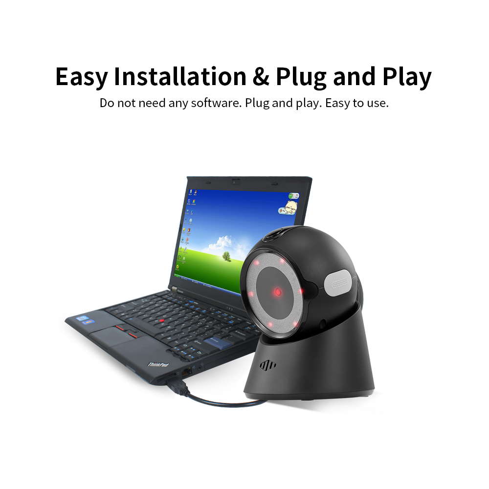 Купить Стационарный  Сканер 2D YHD-9100D